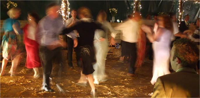 Tips on running a successful ceilidh or barn dance from Shropshire ceilidh band, The Much Ado Band